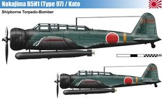 Nakajima B5N1 (Type 97) Allied reporting name Kate.