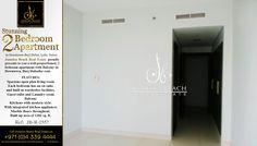 Stunning 2 bedroom apartment for Rent in Downtown Burj Dubai