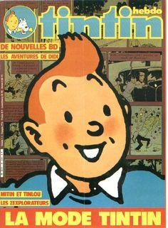 La mode Tintin • Tintin, Herge j'aime
