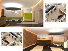 Office design - Diseño interior de planta tipo para edificio de oficinas