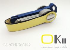 OKii. Carry your keys in style with Okii. by Linda + xs-swar — Kickstarter