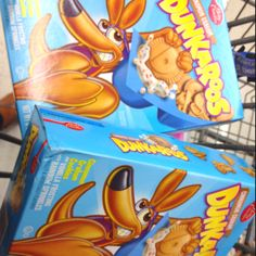 Dunkaroos, man. The official snack of the 90s kid