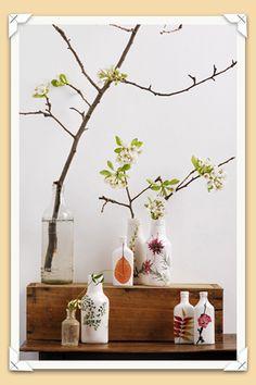 beautiful vases by angus & celeste