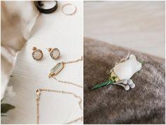 I dont know what I love more...the vintage jewelry or the beautifully simplistic boutonniere.  Elizabeth Henson PhotosSamantha & Taylor - Lands End Plantation Wedding - North Carolina Photographer - Elizabeth Henson Photos