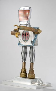 Robot Art by Tal Avitzur -sculptures