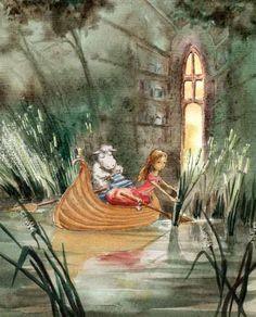 Alice In The Boat by Joanna Pasek [©2010]