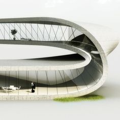 A building with a mouse click. Architecture and 3d printers - Landscape House by Universe Architecture