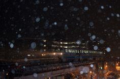 雪の降る夜に〜北九州モノレール〜 - GMT foto @KitaQ