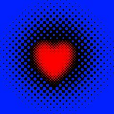 """PULSATING HEART by visual artist Gianni A. Sarcone. The heart looks like to pulsate and shrink! Love Is A Splendid Illusion! Who your heart beats for? A collection of gifts for your loving ones, featuring op art hearts with splendid visual effects. Available from this online store:  http://www.redbubble.com/people/giannisarcone/collections/359075. Spread the word about this """"Love Campaign"""" and share it with your friends! #love #heart #Valentinesday #giannisarcone"""