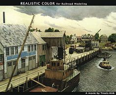 Troels Kirk Realistic Color DVD  Learn how to create realistic models for your model railroad