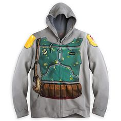 Boba Fett Costume Hoodie for Adults - Star Wars