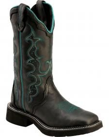 c2219d17e254b2 Justin Crazy Horse Gypsy Cowgirl Boots - Square Toe Gypsy Boots