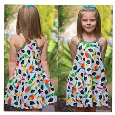 Girls summer dress sewing pattern Rio Top & Dress sizes 4 to 5 style options, childrens dress and top pattern, sundress pattern - Sewing Patterns - KIDS - Dress Sundress Pattern, Dress Patterns, Coat Patterns, Sundress Tutorial, Dresses Kids Girl, Girl Outfits, Baby Dresses, Dress Girl, Infant Dresses