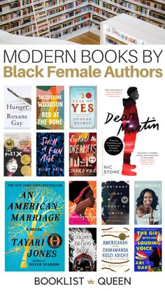 In honor of Black History Month, here is my list of books by contemporary black female authors - brilliant works by fierce women that everyone should read. Best Books To Read, Ya Books, Book Club Books, Good Books, Reading Lists, Book Lists, Books By Black Authors, Black Books, African American Books