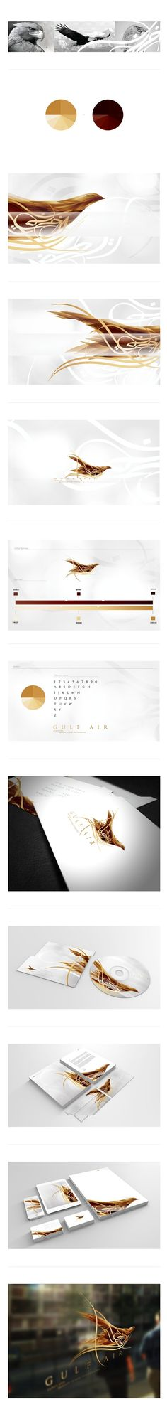 Gulf airlines on Behance