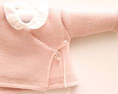 Baby Wrap Cardigan / Instructions in English by LittleFrenchKnits