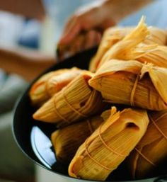 How to make tamales from start to finish!  Wow this lady has it down pat, even though I make them myself, this is a great page to pin as reference.....she even has the recipe for sweet tamales!