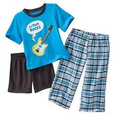 Carter's My Mom Rocks Guitar Pajama Set - Baby