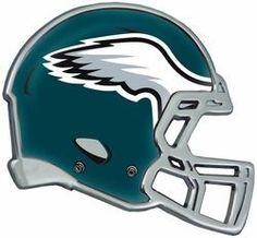 Philadelphia Eagles Helmet Auto Emblem