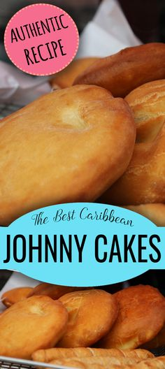 The best Caribbean Johnny Cakes are made with this authentic recipe. Learn how to make traditional Johnny Cake from Aruba, Bonaire, Curaçao, Jamaica & Trinidad. RECIPE included! Jamaican Cuisine, Jamaican Dishes, Jamaican Recipes, Caribbean Johnny Cake Recipe, Caribbean Recipes, Caribbean Bakes Recipe, Bake And Saltfish, Johnny Cakes Recipe, Trinidadian Recipes