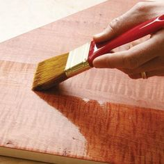 How to select the right finish coat for your wood project. | thisoldhouse.com