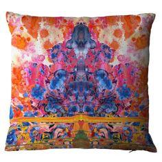 Splitter Splatter Damask cushion by Timorous Beasties