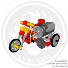 This is a LEGO Technic model that I make for BrainVyne as a LEGO designer - Trend Lego Box 2020