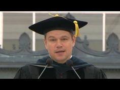 Matt Damon rips Trump and bankers in MIT speech