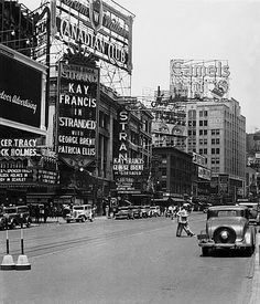 Broadway, NYC, 1934    #ancestry #history #1930  My mother was four when this was taken. She lived on W.135th St.