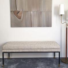 Bench by #louiseliljencrantzdesign #liljencrantzdesign #astridtextiles