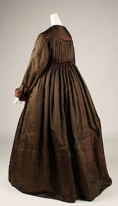 Dressing gown  Date: mid-19th century Culture: American or European