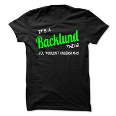 I Love Backlund thing understand ST420 T shirts