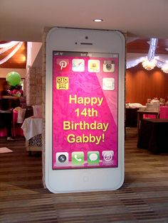 Church of the Unreal 13th Birthday Parties, Birthday Party For Teens, 14th Birthday, Birthday Ideas, Party Props, Party Themes, Party Ideas, Youtube Party, Instagram Party