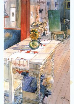 CreativeProMag | The art of Carl Larsson  creativepromag.com