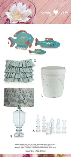 Green Apple HOME STYLE ♥ Spring 2015 #InspiringCollections #InteriorDecoration #Furniture #Portugal #Spring