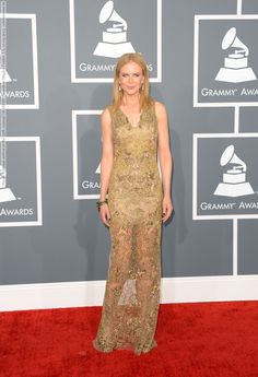 Nicole Kidman arrives at the 55th Annual GRAMMY Awards at Staples Center, LA, 10.02.2013 (20 HQ pictures)