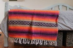 Vintage Style Mexican Blanket 26% OFF
