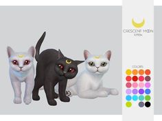 Cat & Kitten _ Crescent Moon The Sims 4 - The Sims 4 Love Life Miracles Asia Viet Nam Sims Four, Sims 4 Mm, Sims 4 Body Mods, Sims 4 Game Mods, Sims 4 Pets Mod, Cat Sim, Sims 4 Cheats, Muebles Sims 4 Cc, Pelo Sims