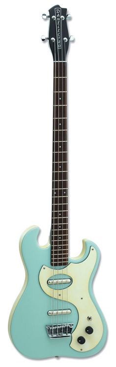 My baby! Seafoam green '63 reissue with bottleneck headstock has always been my favorite bass, and now it's MINE! Got it off eBay for only $400. The lipstick pickups actually sound awesome.