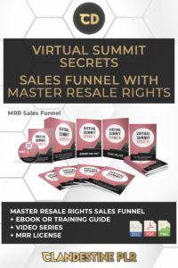 Virtual Summit Secrets Sales Funnel With Master Resale Rights  | #MasterResaleRightsSaleFunnels #MRRSaleFunnels #MRRProducts #MRR #MasterResaleRights Secret Sale, The Secret, Image Master, Sales Letter, Social Media Images, Free Market, Creating A Business, Strong Relationship, Digital Marketing