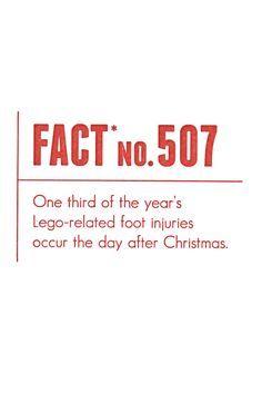 Lego Holiday Card Set of 6