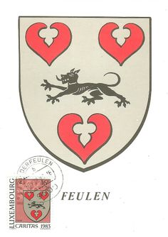 Wappen aus Luxemburg - Feulen