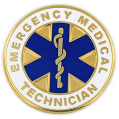 Awesome PinMarts Emergency Medical Technician EMT Lapel Pin ** Find Out More About  The Great Product