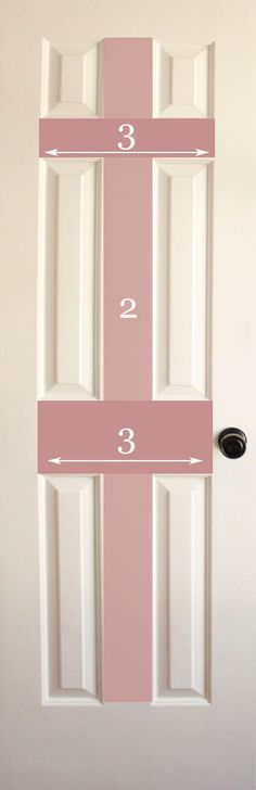 How to Paint Doors (The Professional Way) I wish my husband listened to me. Now I have to go behind him and fix it.