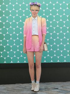 Stella Kattermann #vistelacalle #looks #streetstyle #fashion #modaurbana #moda #coolhunting #london #lfw Topshop, Chanel, Stella, Street Style, Blazer, Fashion Outfits, London, Shorts, Clothing