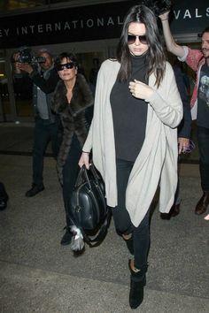 Kendall Jenner wearing Givenchy Lucrezia Bag, Fendi Karlito Key Chain, Dolce & Gabbana Dg2102 Sunglasses, Arthur George Camo Socks, RTA Destroyed Pull on Leggings and Isabel Marant Rawson Ankle Boots