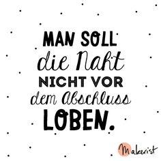 Man soll die Naht nicht vor dem Abschluss loben - via Makerist.de