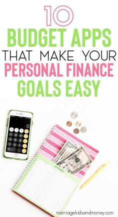 10 Budget Apps That Make Your Personal Finance Goals Easy – Budgeting – efinance Financial Apps, Financial Goals, Financial Planning, Financial Budget, Budgeting Finances, Budgeting Tips, Best Budget Apps, Budget Help, Online Budget