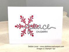 Debbie's Creative Spot: Holly Jolly Greeting's Christmas Card