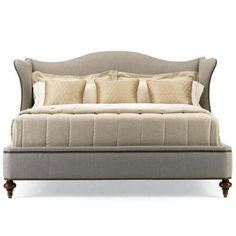 Hickory White Continental Classics Upholstered King Bed